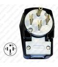 Hubbell HBL9452C NEMA 14-50 Angled Entry Male Plug