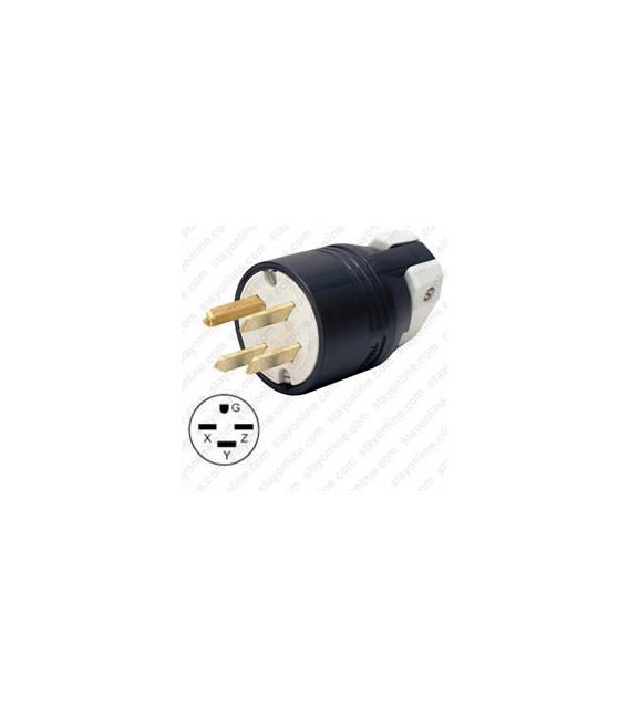Hubbell HBL8431C NEMA 15-30 Male Plug