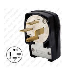 HUBBELL HBL8452C AC Plug NEMA 15-50 Male Angled
