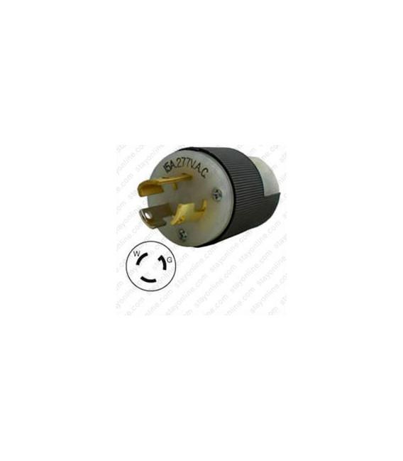 HUBBELL HBL4770C NEMA L7-15 Male Plug