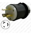 Hubbell HBL2331 NEMA L7-20 Male Plug