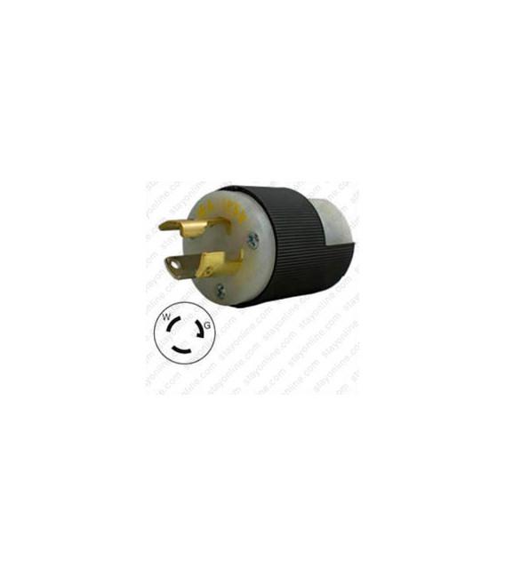 Hubbell HBL4720C NEMA L5-15 Male Plug
