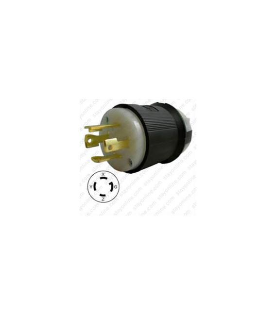 Hubbell HBL2731 NEMA L16-30 Male Plug