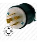 Hubbell HBL2421 NEMA L15-20 Male Plug