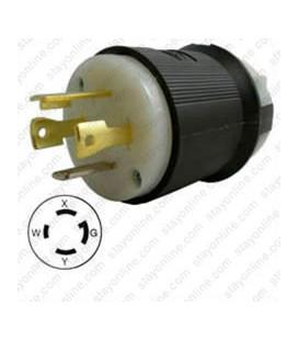 Hubbell HBL2711 NEMA L14-30 Male Plug