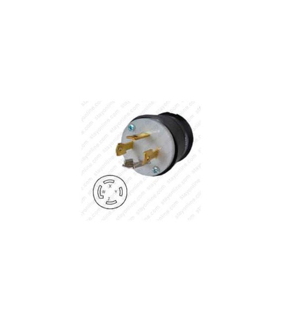 HUBBELL HBL2751 AC Plug NEMA L18-30 Male