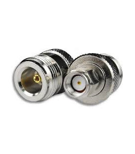Coaxial Adapter, N-Female / RP-SMA Plug
