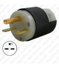 Hubbell HBL5666C NEMA 6-15 Male Plug