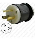 Hubbell HBL2611 NEMA L5-30 Male Plug