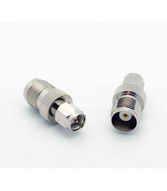 SMA Male - TNC Female coaxial Adapter 50 ohms