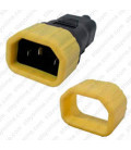 C14 Secure Sleeve Contact Retention Insert - Yellow