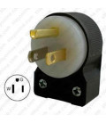 Hubbell HBL5266CA NEMA 5-15 Angled Entry Male Plug