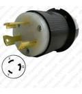 Hubbell HBL2621 NEMA L6-30 Male Plug