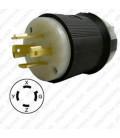 Hubbell HBL2431 NEMA L16-20 Male Plug