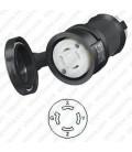 Hubbell HBL2743SW NEMA L17-30 Female Connector Watertight