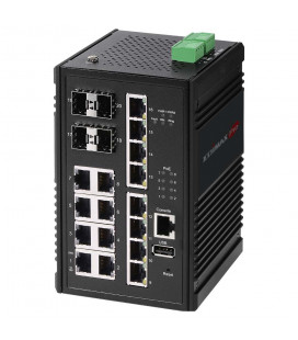 Industrial 8-Port Gigabit Web Managed Switch with 2 SFP Slots