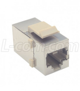 Cat 3 Coupler - Shielded RJ45 (8x8) Keystone Feed-thru