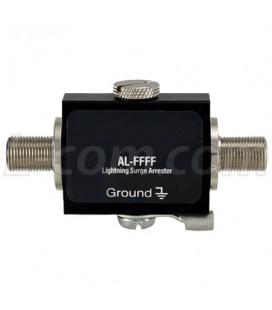 Protector de rayos 0-3 GHz, 90V F Hembra-F Hembra