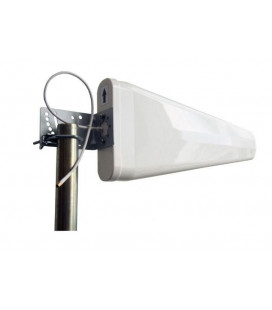 Antena exterior tribanda YAGI para montaje en mastil N Hembra