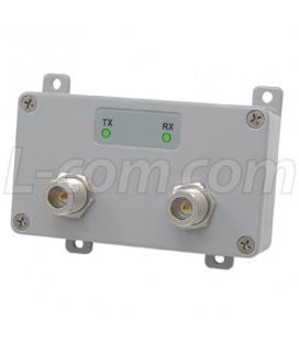 Amplificador 250 mW, 802.11 b/g, Interior