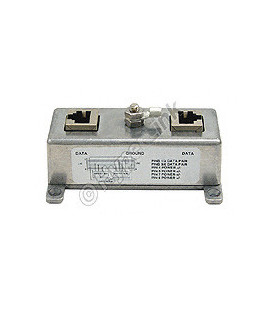 Receptor corriente PoE, 2 salidas 12 Vcc
