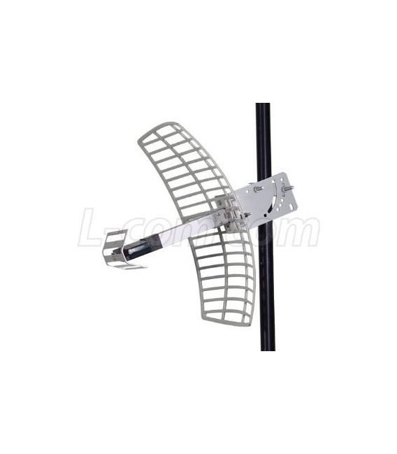 2.4 GHz 15 dBi Die Cast Mini-Reflector Grid Antenna - N Female Connector