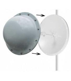Radomo fibra de vidrio para parabolica de 60 cms