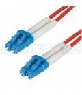 9/125, Single Mode Fiber Cable, Dual LC / Dual LC, Orange 1.0m