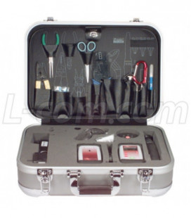 Fiber Optic Test Kit W/ Power Meter, Light Source and Tool Kit