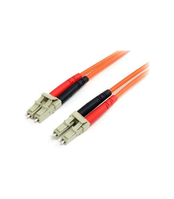 Cable F.O. 2Mts - LC/LC -62.5/125-MM-OD2.8mm-LSZH- NARANJA