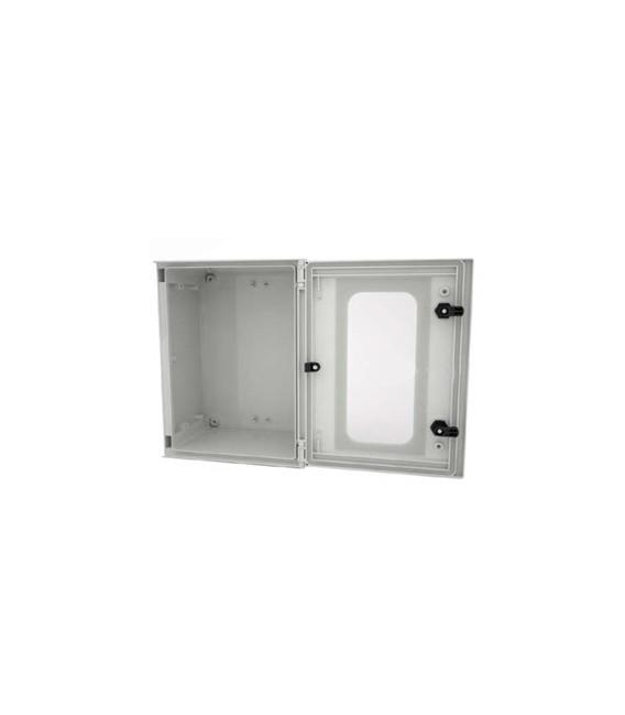 Armario Safybox BRES-44P 400 x 400 x 200 mm, Puerta Transparente.