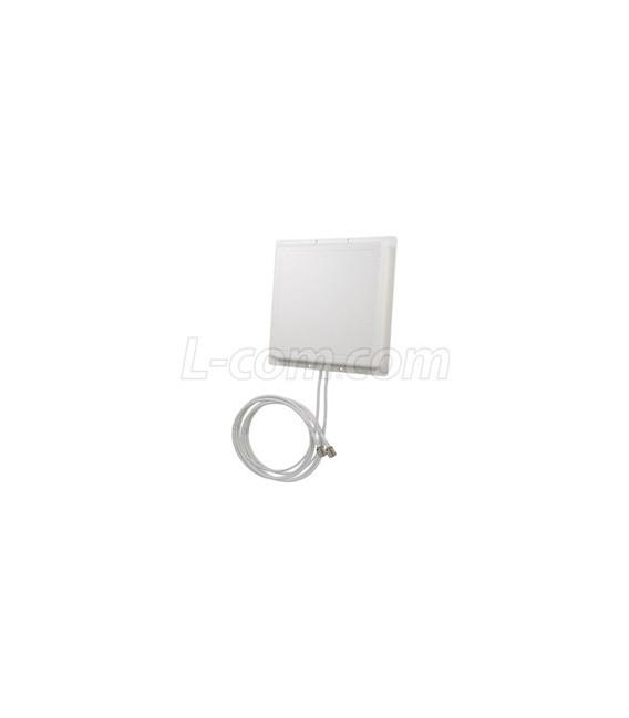 2.4 GHz 11 dBi Dual Polarization Diversity/MIMO/802.11n Antenna - 3ft RP-SMA Plug Connector