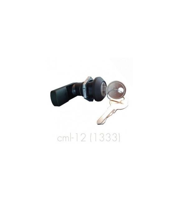 Cierre con empuñadura manual y llave (sirve para la puerta exterior e interior)