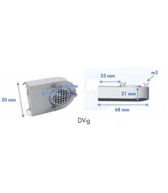 Dispositivo de ventilación grande