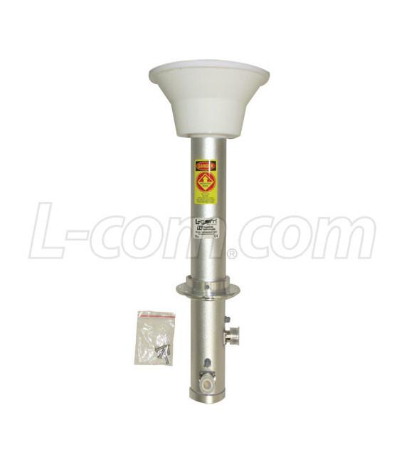 Iluminador 4.9-5.8 GHz doble polarida de 34dBi, L-com