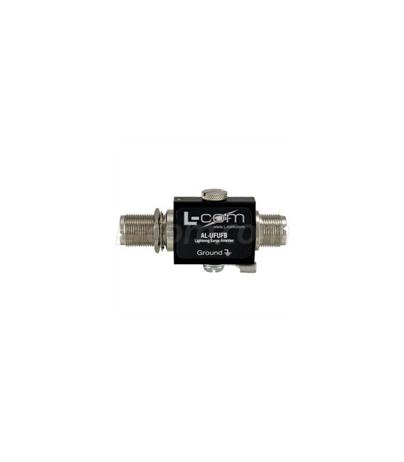 UHF-Female to UHF-Female Bulkhead 0-3 GHz 600V Lightning Protector
