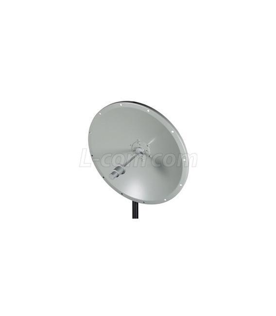 5.8 GHz 24 dBi Solid Parabolic Dish Antenna