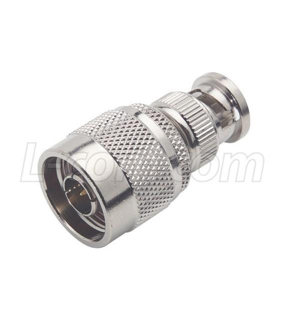 Coaxial Adapter, BNC Male / N-Male