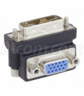 DVI 24+5 Male to VGA Female Adapter