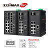 New Robust Industrial-Grade Managed Switch IGS Edimax Pro